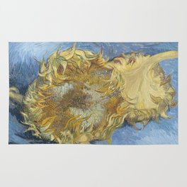 Two Sunflowers Rug