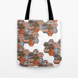 Tribal Collage Tote Bag