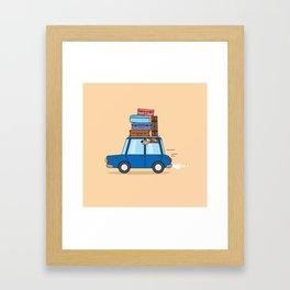 Family travel Framed Art Print