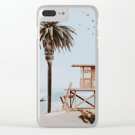 no lifeguard ii Clear iPhone Case