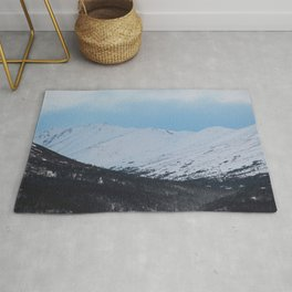 Blue Behind The Mountains 2 Rug