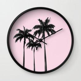 Feeling the Vacations Wall Clock