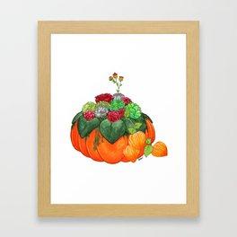 Autumn bouquet Framed Art Print