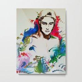 Colour Bomb Metal Print