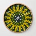 Large Yellow Wildflower Kaleidoscope Art 12 by christopherjohnsonart