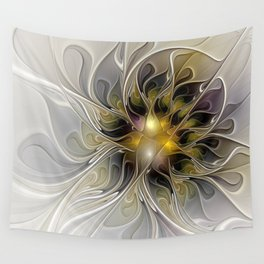 Abstract Beauty, Modern Fractals Art Wall Tapestry