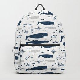 Sperm Whale #nautical #homedecor #coastal #whale Backpack