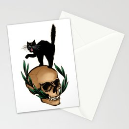 Scaredy Cat Stationery Cards