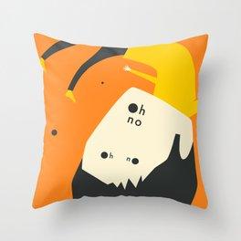 OH NO (2) Throw Pillow