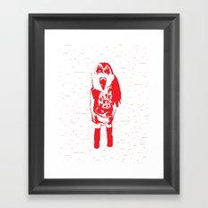 Kiss Loves You #1 Framed Art Print