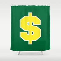 sports Shower Curtains featuring Sports green $ by Cary Harding