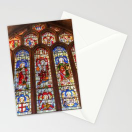 Stained Glass Abbey Window Stationery Cards