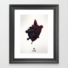 CORE Black 2 Framed Art Print