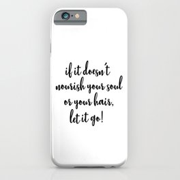 Natural Hair iPhone Case