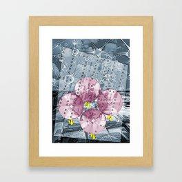 The Rain Walk Framed Art Print