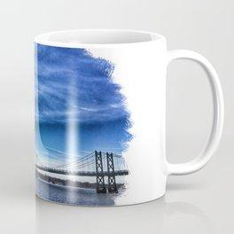 Iowa-Illinois Memorial Bridge - Looking Towards Moline Coffee Mug