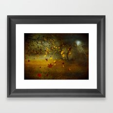 Late October Framed Art Print