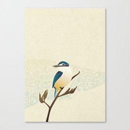 Kotare Canvas Print