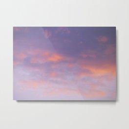 Sunset clouds 2 Metal Print