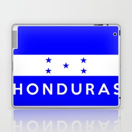 Honduras country flag name text Laptop & iPad Skin