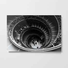 Scalinata Metal Print