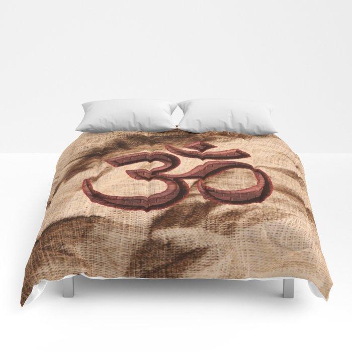 Kraftsymbol OM Comforters