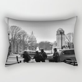 Welcome Back Rectangular Pillow