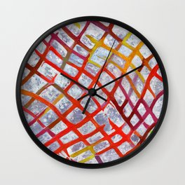 Lattice Wall Clock