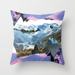 Experiment am Berg 30 Throw Pillow