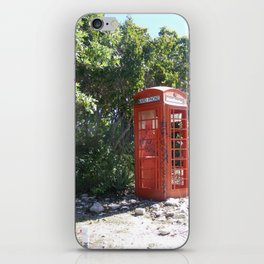 Telephone Box iPhone Skin