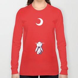 Moon Bunny Long Sleeve T-shirt