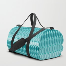 pattern leaves in the moonlight Duffle Bag