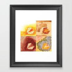 4 Ladybirds Framed Art Print