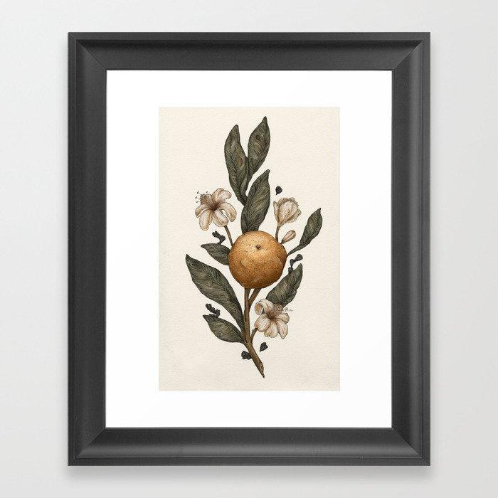 Clementine Gerahmter Kunstdruck