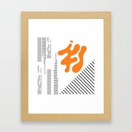 Mid-Century Modern Art Future Framed Art Print