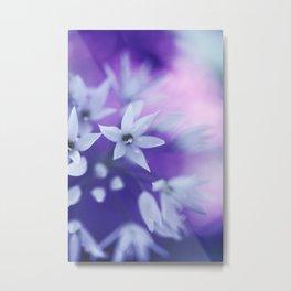 Dusky Violet Metal Print