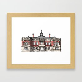Battersea Arts Center London Framed Art Print