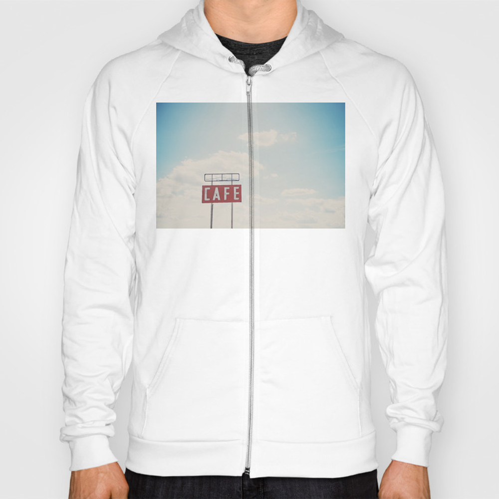 A Cafe Along Route 66 ... Hoody by Oohprettyshiny SSR7540105