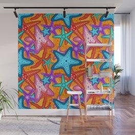 Starfish Pattern Design 2 Wall Mural
