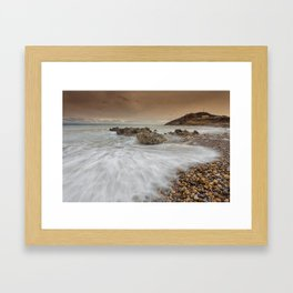 Bracelet Bay Gower Framed Art Print