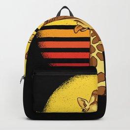 Giraffe Giraffes Africa Gift Idea Backpack