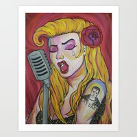 CryBaby's Girl Art Print
