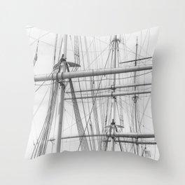 Mast Throw Pillow