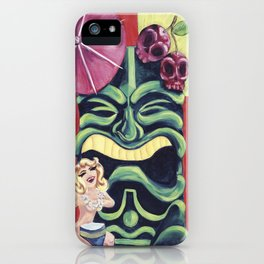 Tiki Mai Tai iPhone Case