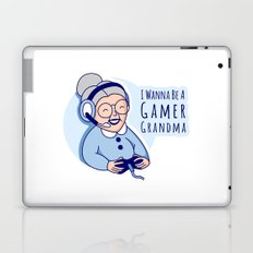 Gamer Grandma Laptop & iPad Skin