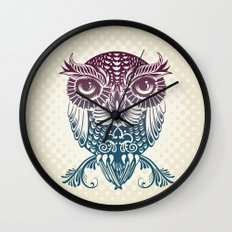 Baby Egyptian Owl Wall Clock