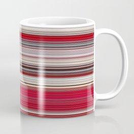 Modern Red Tan Line Decor Coffee Mug