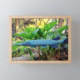 In The GAR-den Framed Mini Art Print