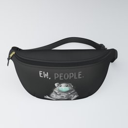 Ew People Guinea Pig Mask Fanny Pack