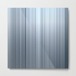 Metal brushed texture Metal Print